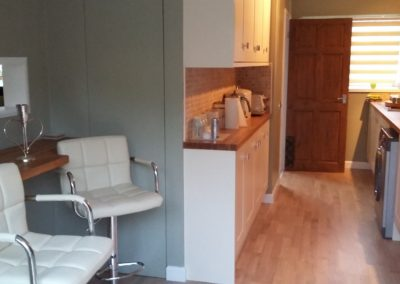 Complete kitchen makeover, breakfast bar, appliances, flooring and tiling