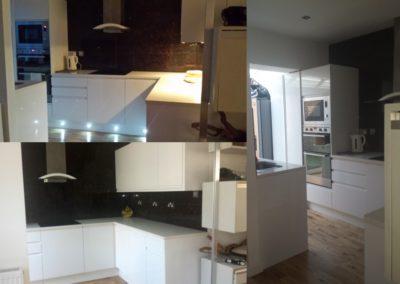 New designer kitchen - Belsize Park, NW3