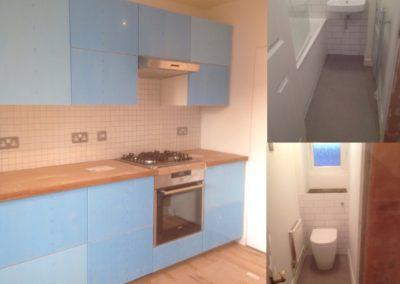 Kitchen & Bathroom makeover - Highbury, N5