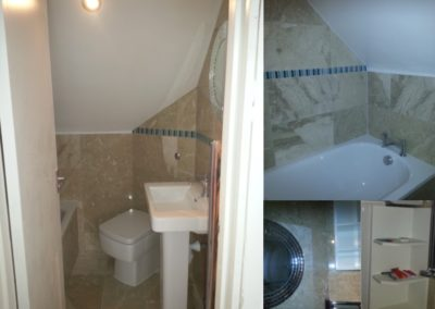 New ensuite bathroom - Belsize Park