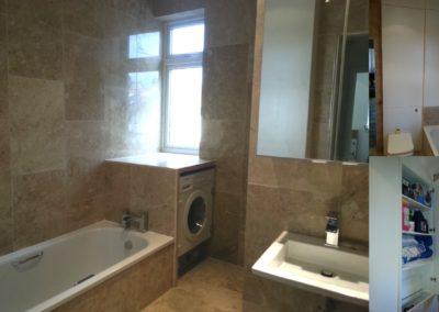 New family bathroom - Belsize Park